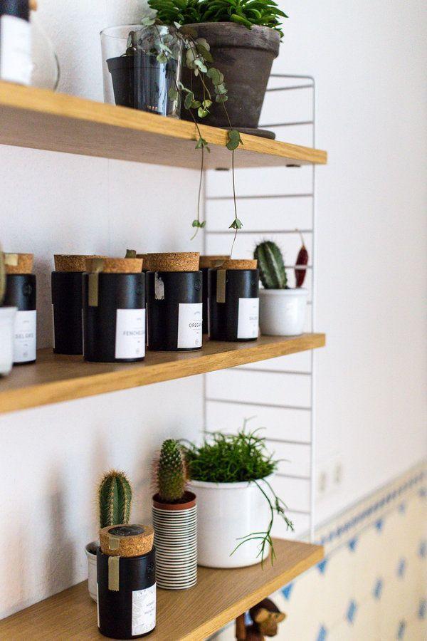 Gewürzregal in der Küche - küchen selber zusammenstellen