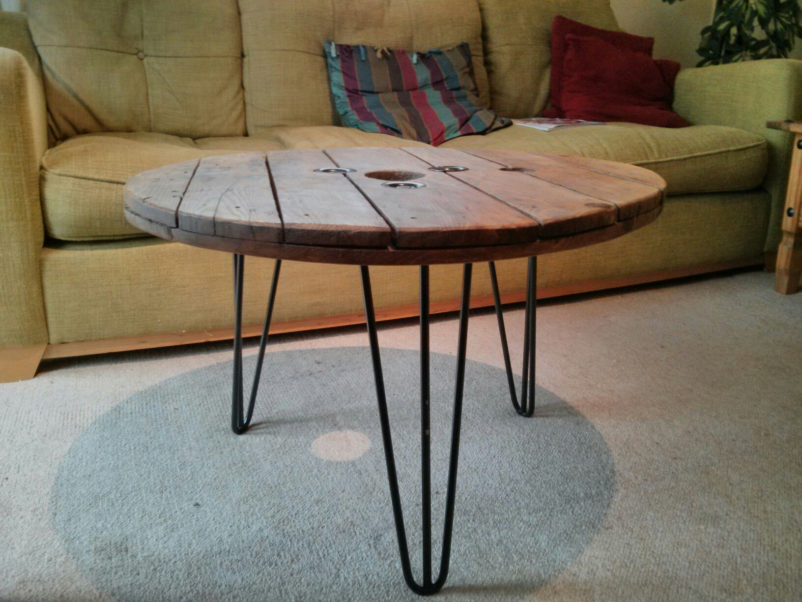 Upcycled Electric Cable Reel Now Coffee Table With Hairpin Legs Available For Sale 75 Https Www Gumtree Com P For Coffee Table Hairpin Leg Table Table [ 1224 x 1632 Pixel ]