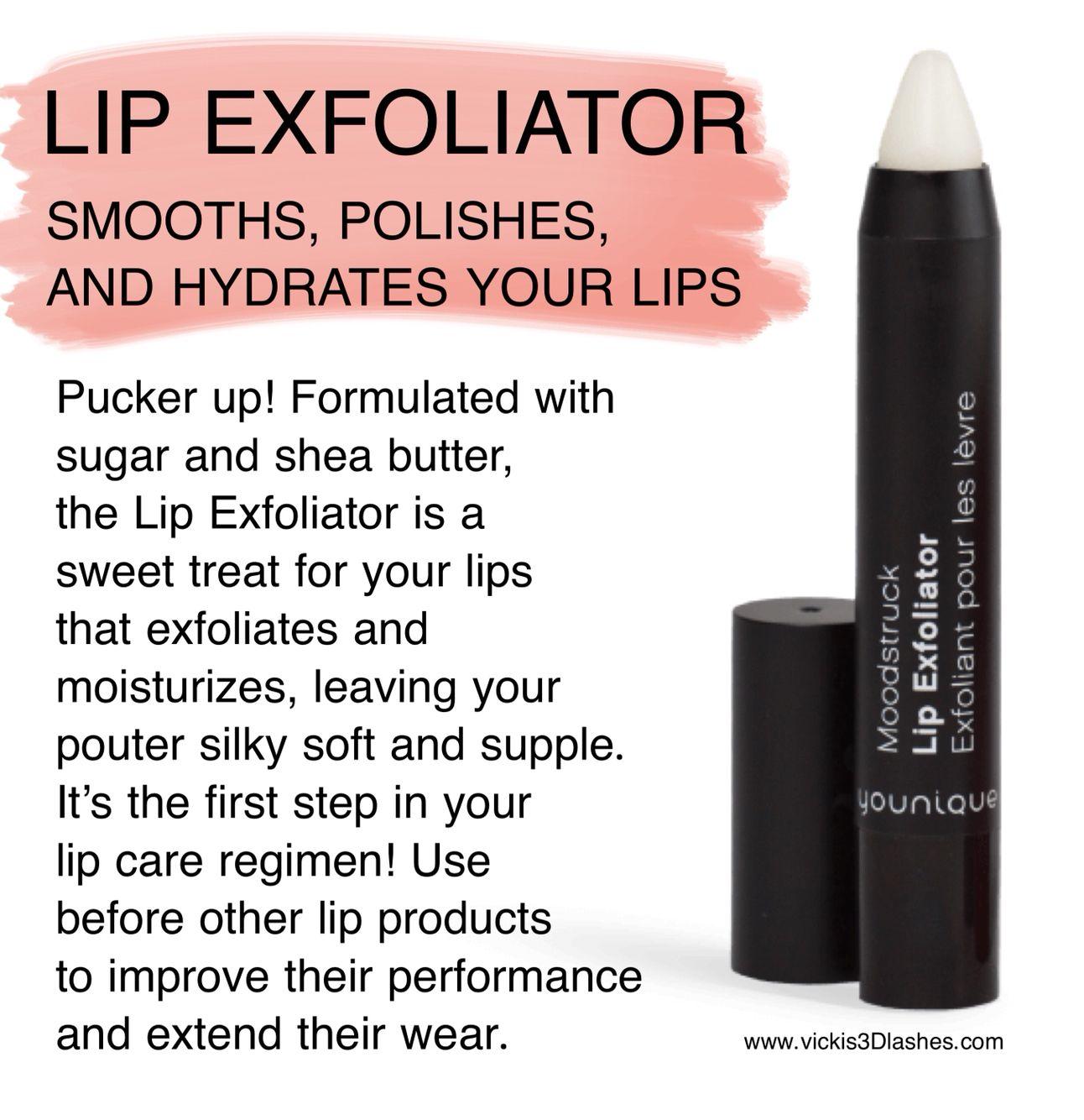 Younique's Lip Exfoliator Vicki