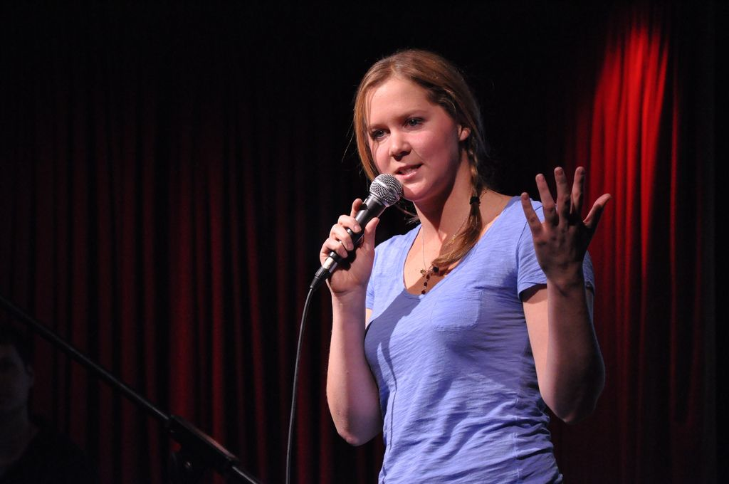 Amy Schumer At 92ytribeca Comedy Below Canal Witstream Live