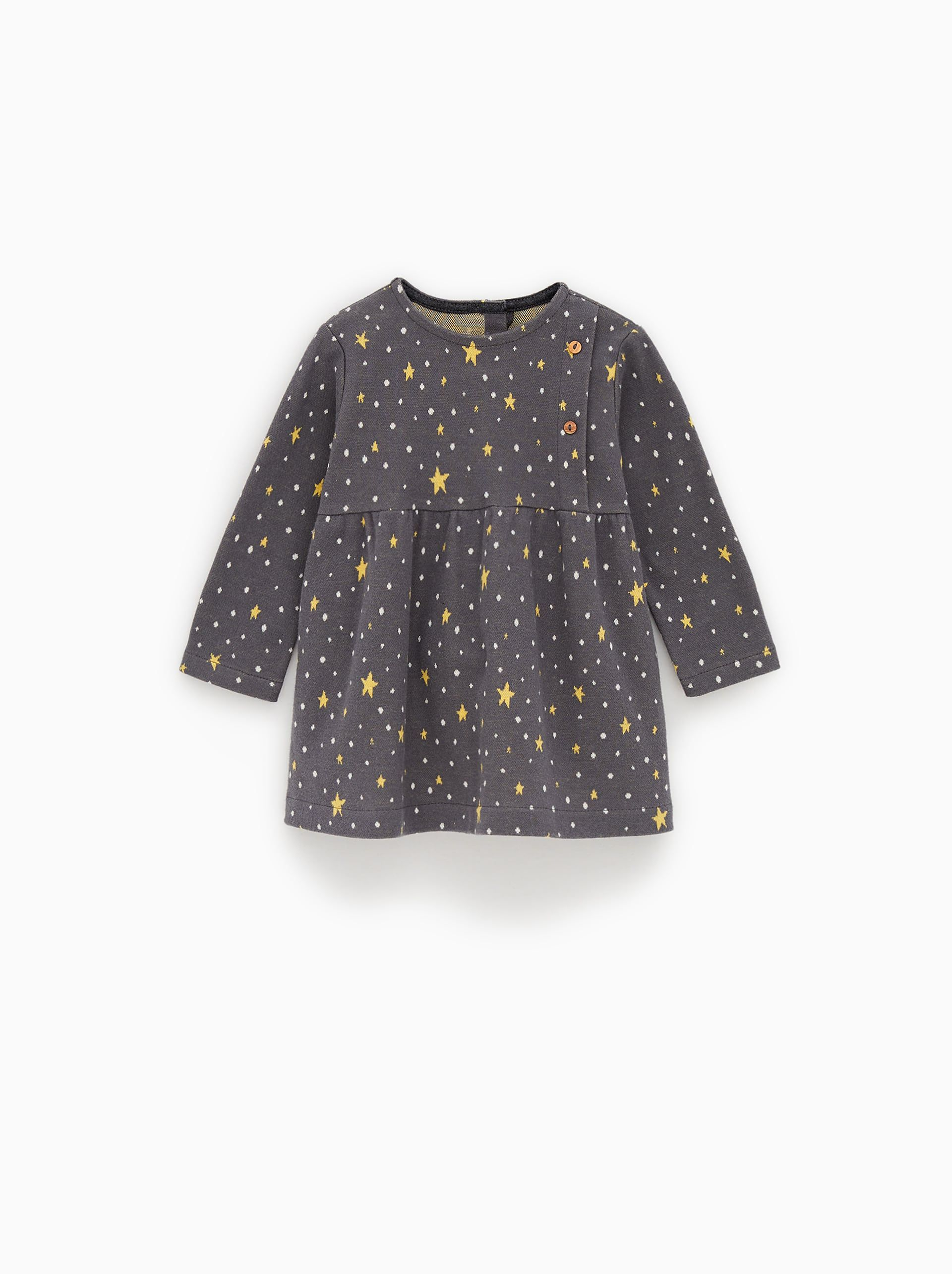 Image 1 Of Soft Fabric Dress From Zara Dress Fabric Baby Dress Baby Girl Dresses