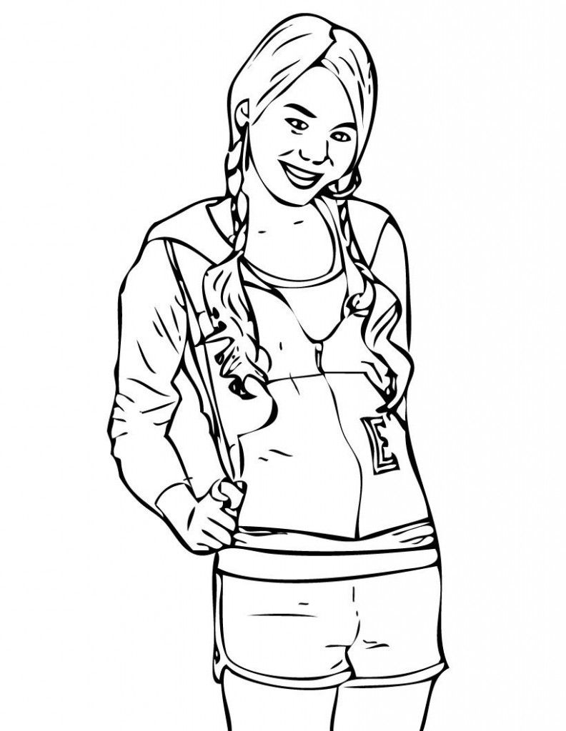 Free Printable Hannah Montana Coloring Pages For Kids Coloring Pages For Girls Coloring Pages For Kids Coloring Pages