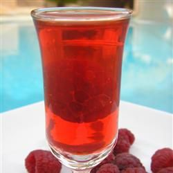 Raspberry Party Shots #raspberryvodka