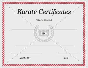 Sports Certificate Template | Certificate Templates | SPORTS ...