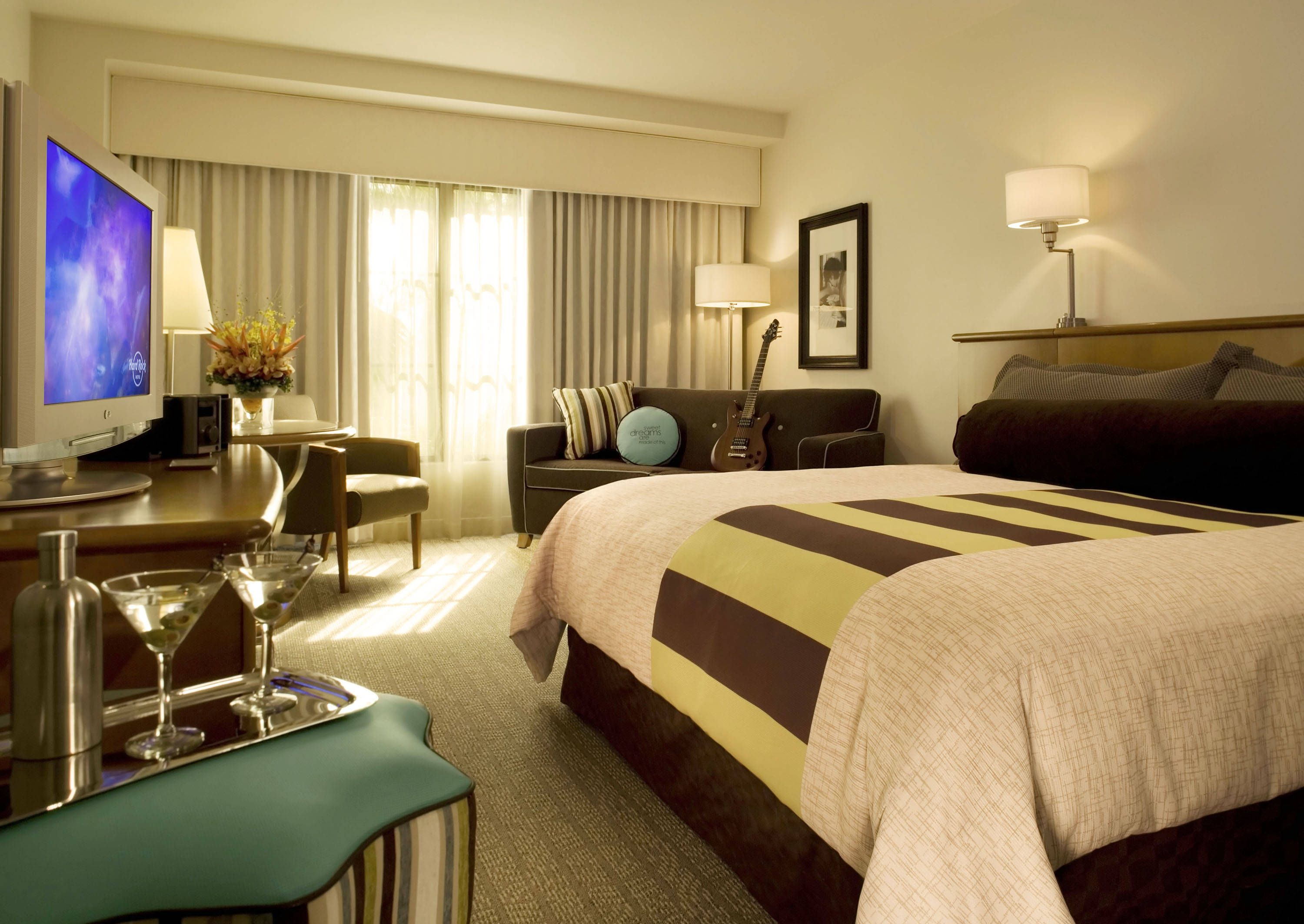 rooms | Universal Orlando's Hard Rock Hotel Room - Room at Universal's Hard ...