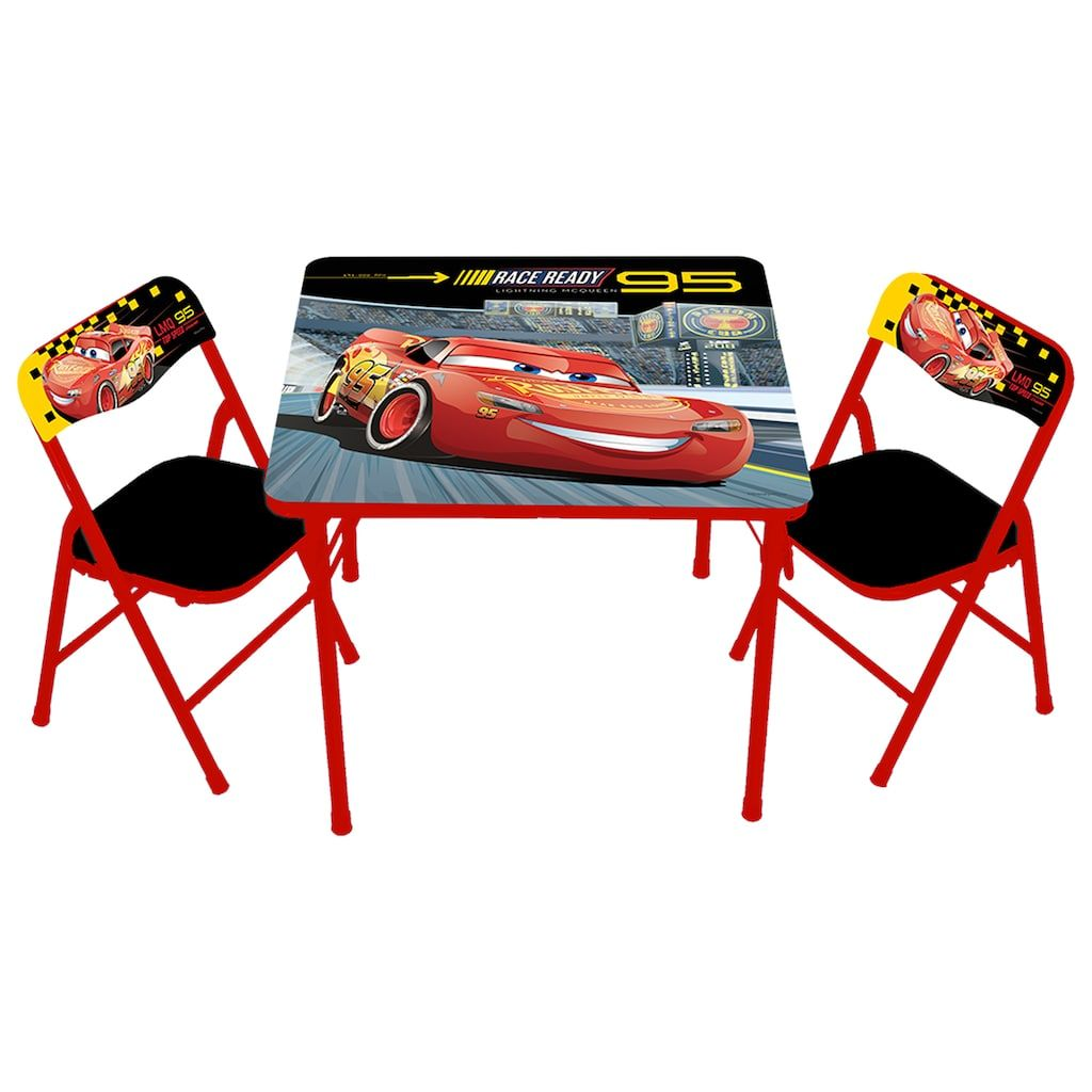 disney pixar cars 3 activity table chairs set products
