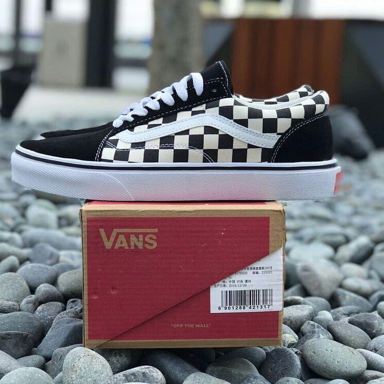 Vans Old Skool Checkerboard + • COLOUR