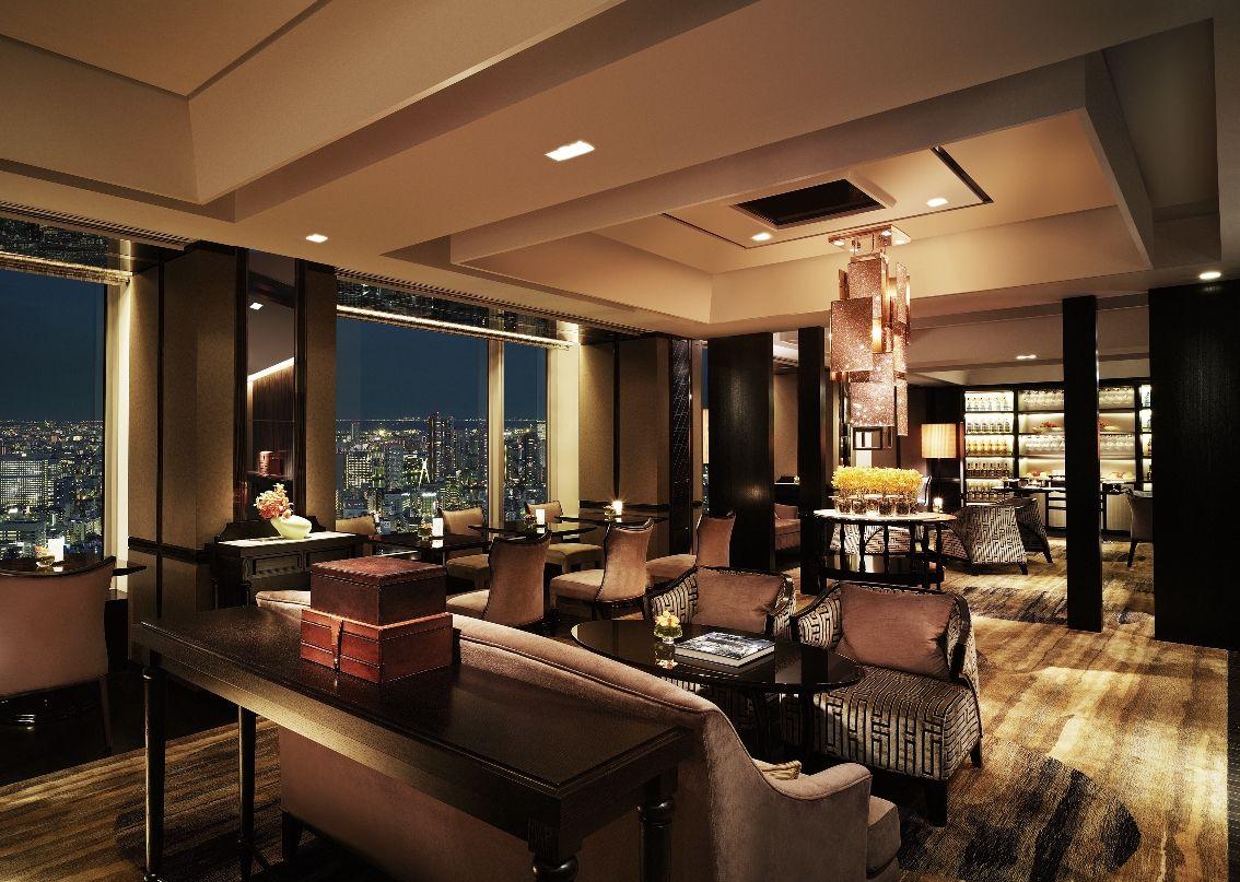 Shangri-La Hotel, Tokyo Horizon Club Lounge | Executive Lounge ...