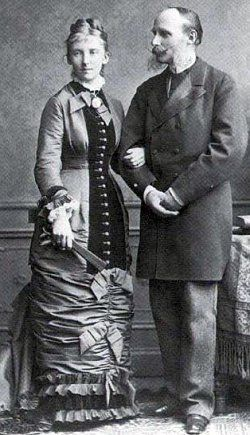 Their Royal Highnesses Prince Henry and Princess Marie of Orange-Nassau, Prince and Princess of the Netherlands. Married: August 23, 1878