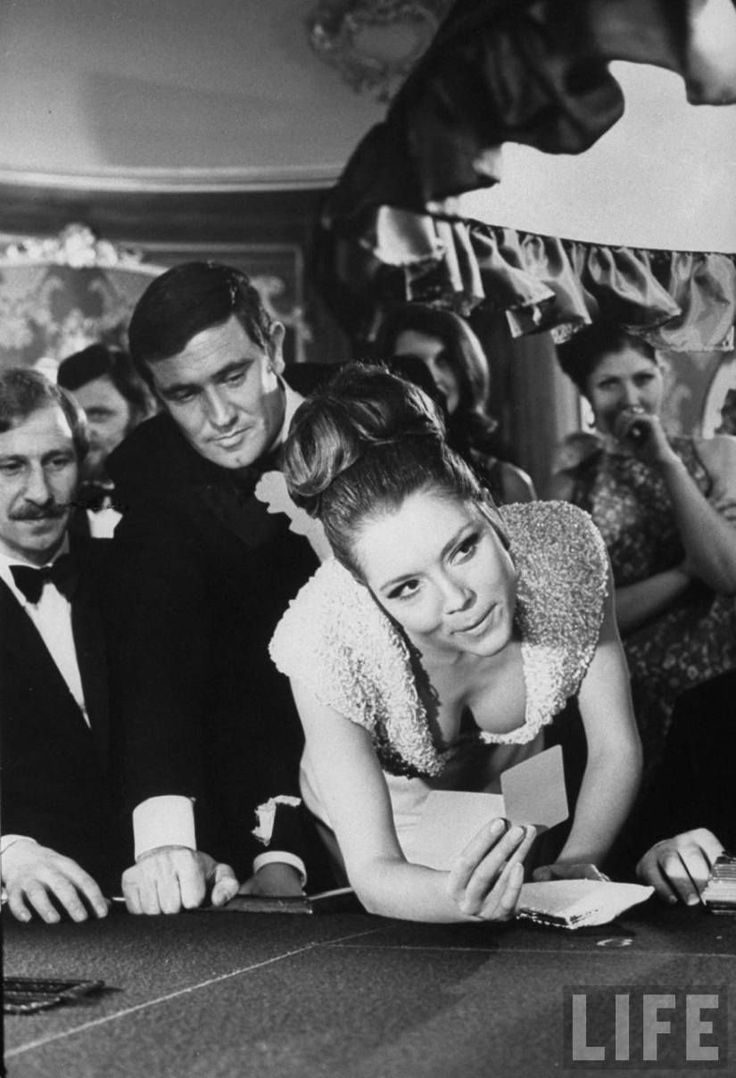 Diana Rigg Bond Girl On Her Majesty S Secret Service I Like This