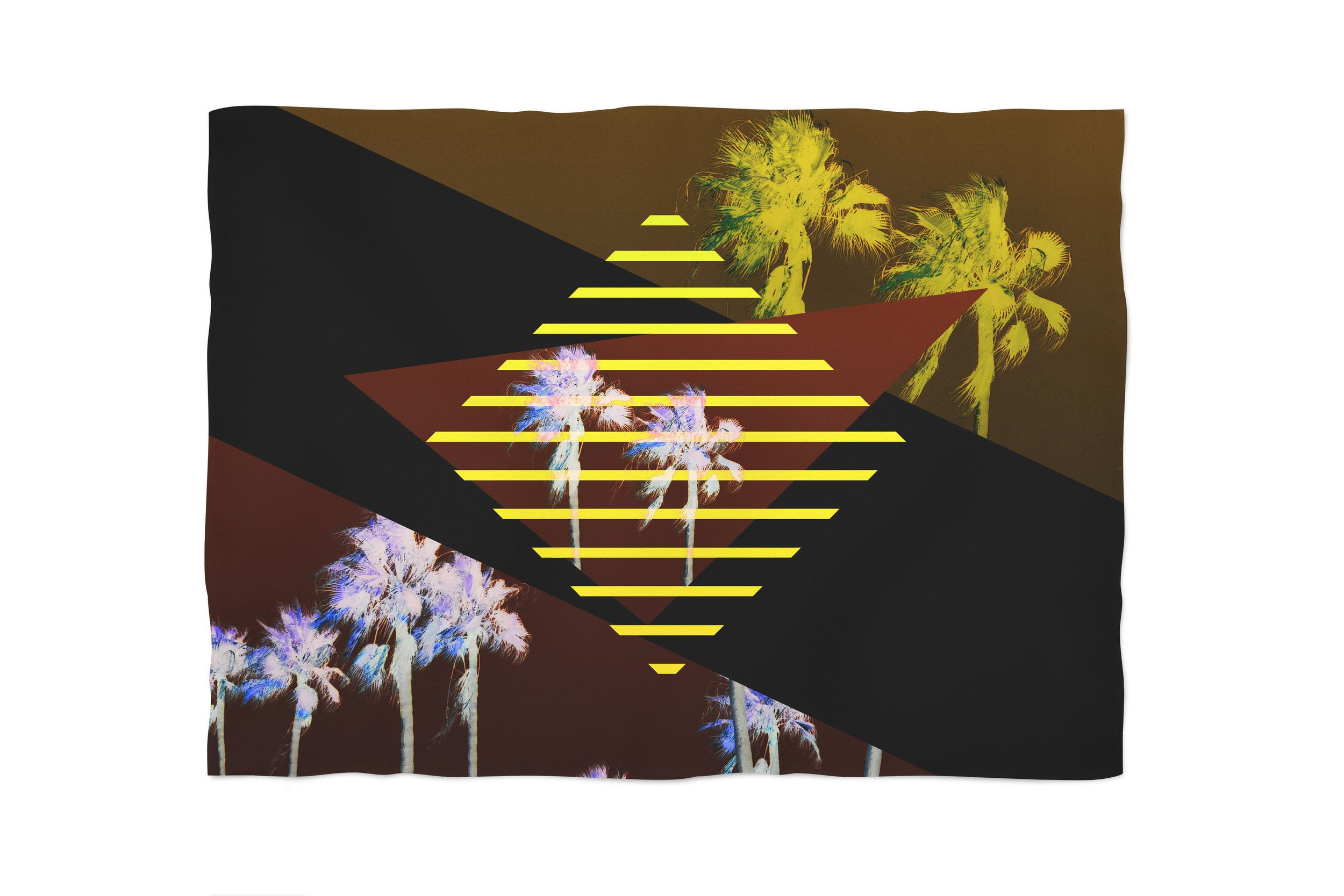 Retro inspired art deco style as a tribute to the neon life this