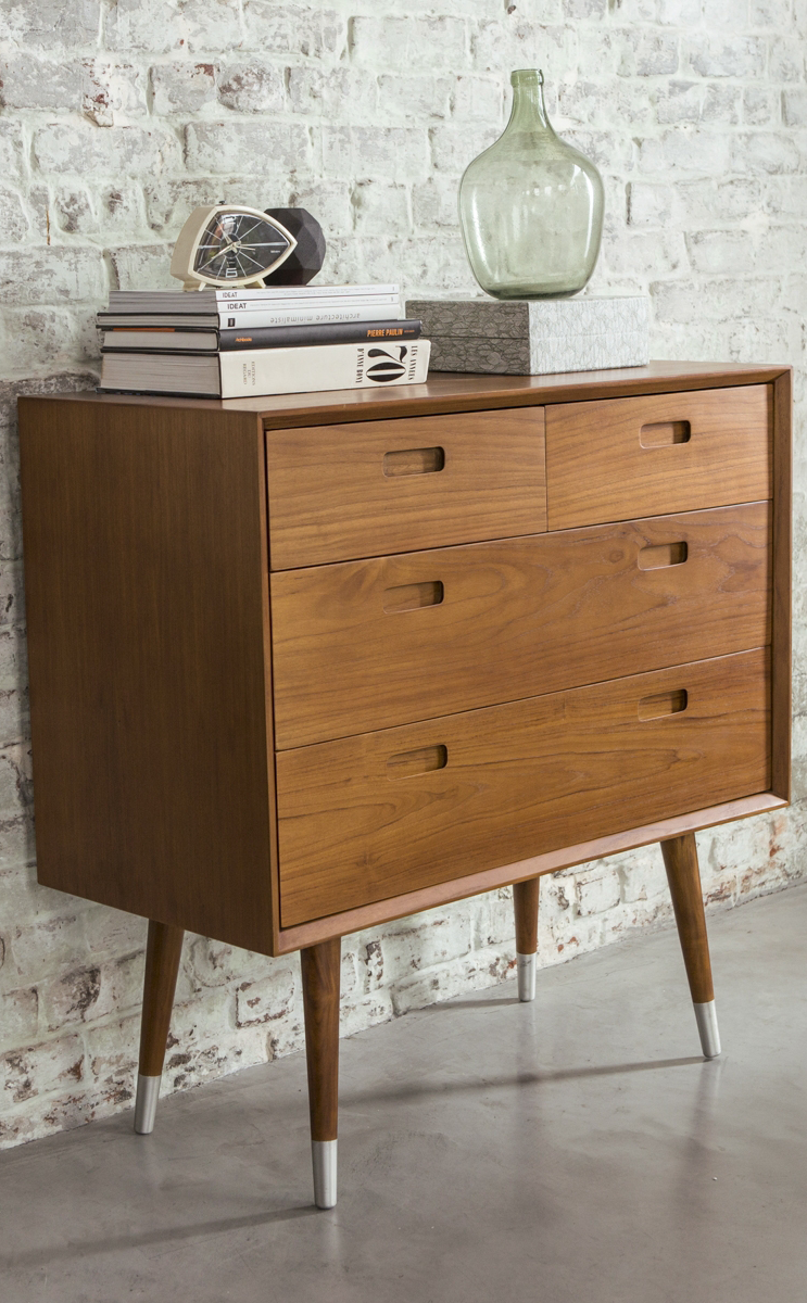 Retro Kommode Magda 4 Drawer Chest Of Drawers In 2019 Mid Century Modern