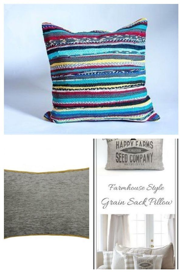 Boho Pillow/ Colorful Pillow Case / Bohemian Style / Hand Loomed Pillow / Stripe : Boho Pillow/ Colorful