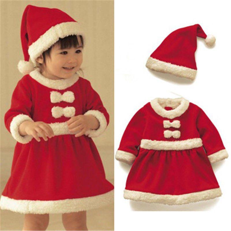 df8e6d3152b88 Christmas Santa Claus Costume Children Boys Girls Kids Cosplay Dress Set  Outfit #Costume#Children#Boys