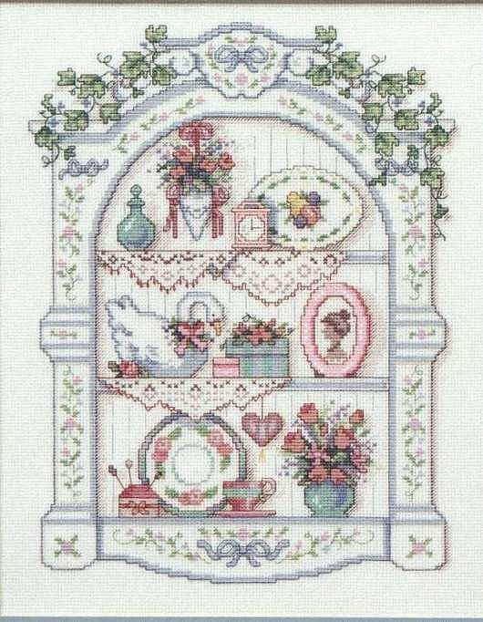 Cross-stitch Vintage.. no color chart available, just use pattern ...