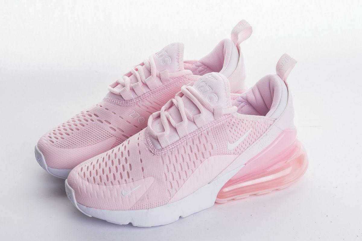 "73b2298e3f22 Nike Air Max 270 ""Pink"" AH8050-600 Sport Sneaker4"