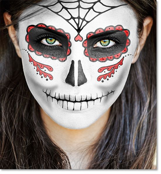 makeup and clothing for day of the dead celebrations google search - Where Does The Halloween Celebration Come From