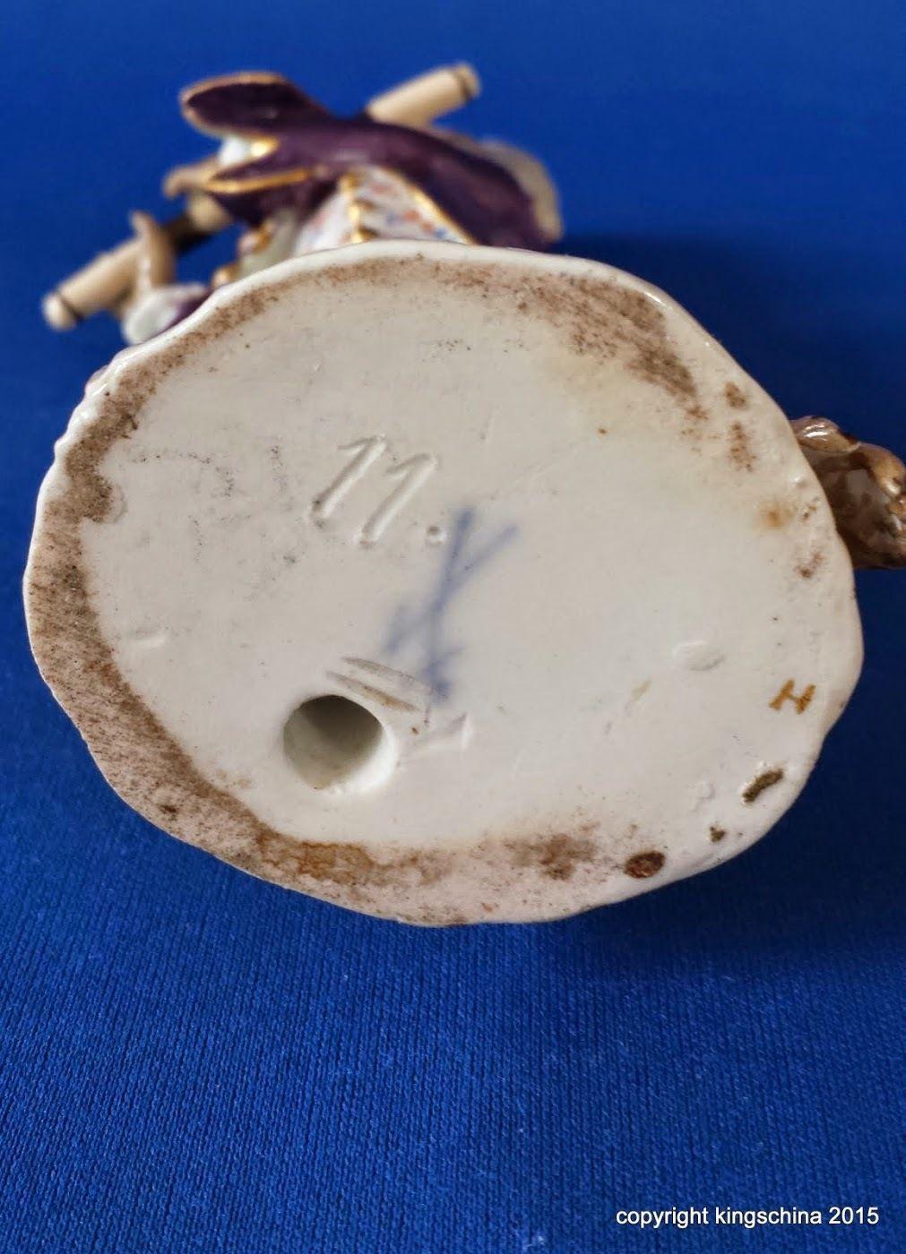 ANTIQUE MEISSEN MONKEY BAND FIGURINE FLAUTIST Affenkapelle ORCHESTRA figuren   eBay
