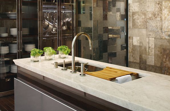 Crystal Clear Kitchen Design Showcased In The Kohler Design Center