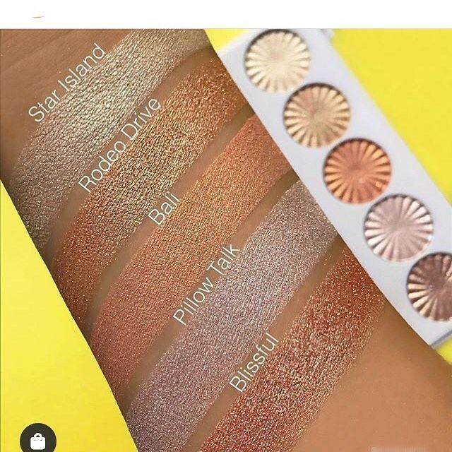 Soph X Makeup Revolution Eyeshadow Palette Makeup