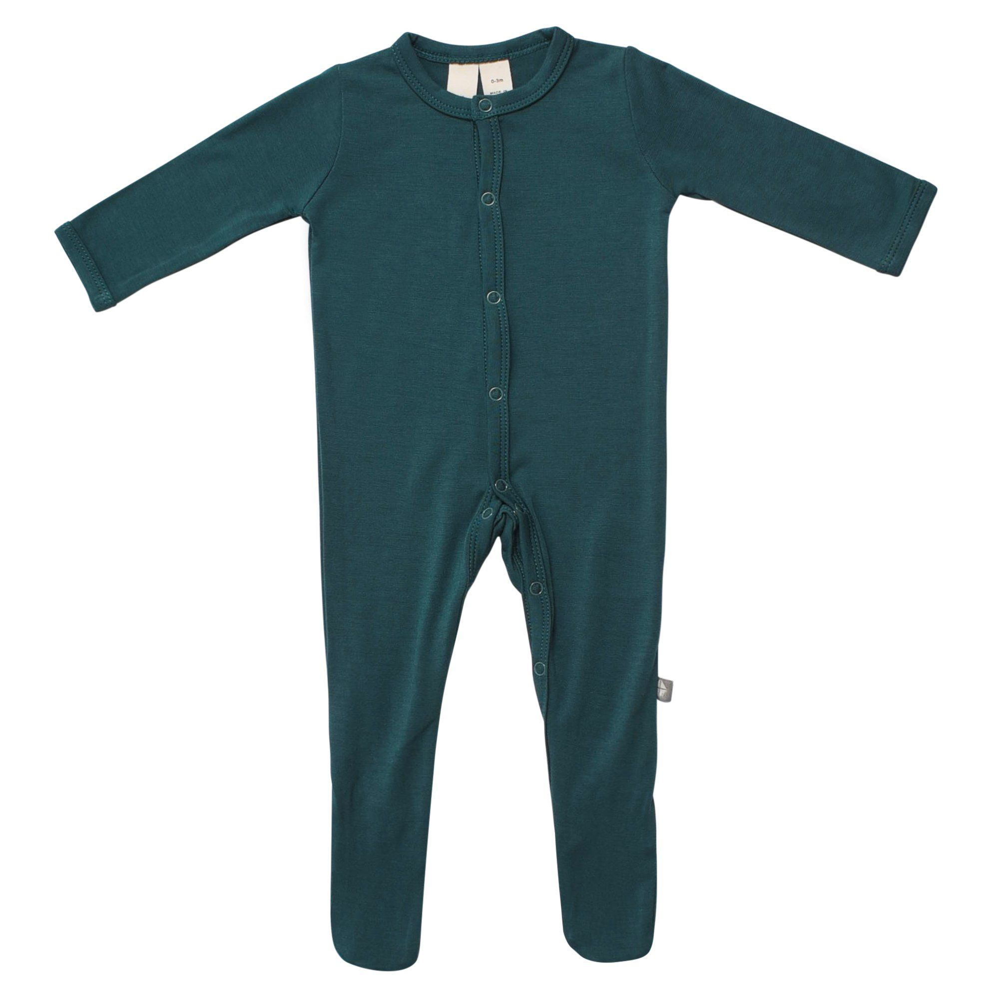 90b54e27a5 Footie in Emerald Baby Girl Fashion
