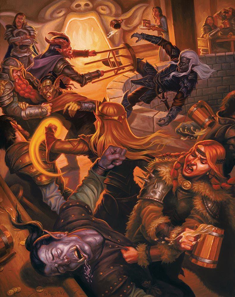 The Yawning Portal Tavern Brawl | Dungeons and dragons books, Dungeons and  dragons, Dungeons and dragons handbook