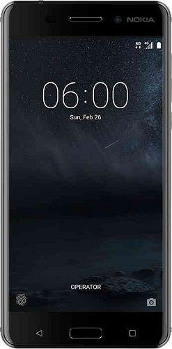 Nokia 6 Dual Sim - 64GB, 4GB RAM, 4G LTE, Glossy Arte Black