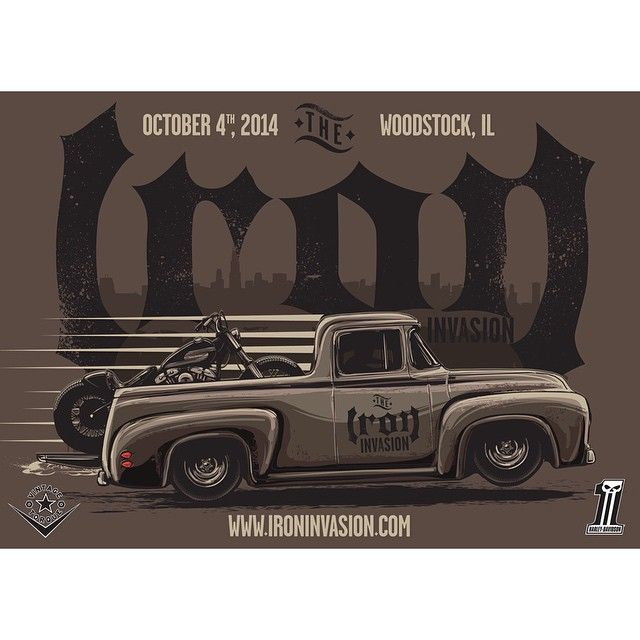 Harley Davidson - Head over to Woodstock, Illinois this Saturday to check out Iron Invasion!
