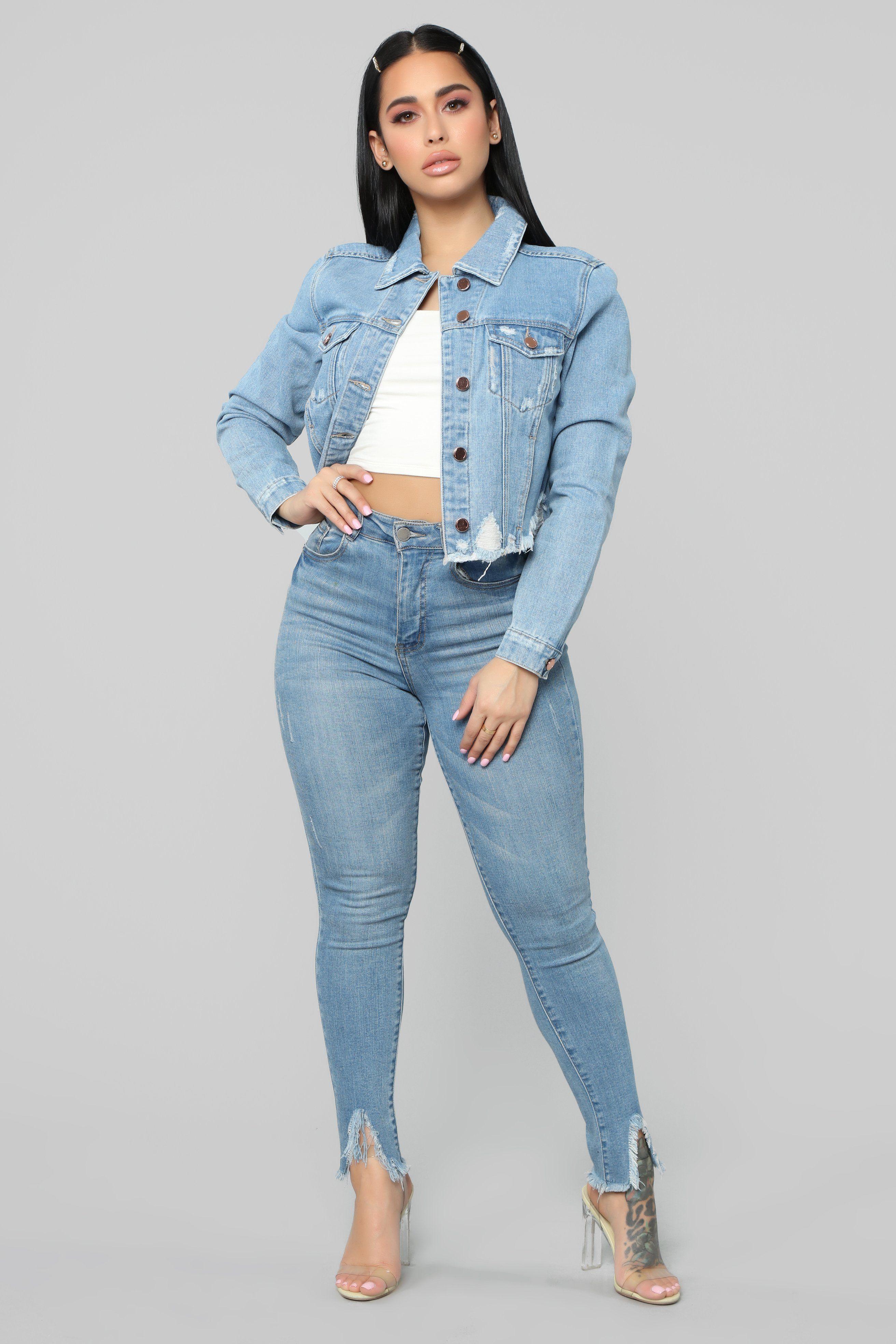 Never Give Up Denim Jacket Light Wash In 2021 Light Wash Denim Jacket Denim Jacket Jean Jacket For Girls [ 3936 x 2624 Pixel ]