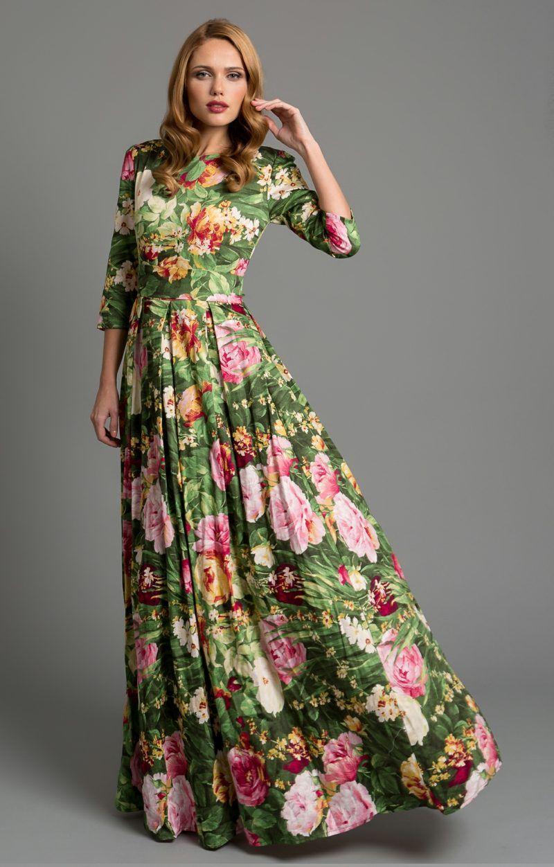 Schöne Maxikleider für den Frühling und Sommer #fashion