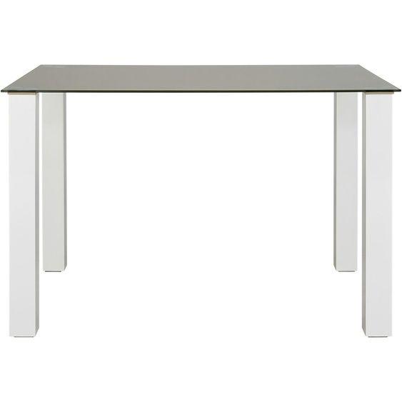 Esstisch | weiß | 80 cm | 77 cm | 80 cm