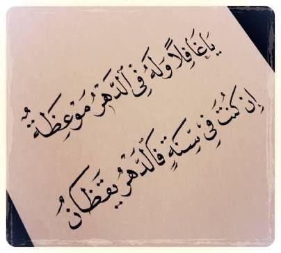 شعر الدهر الحياة الدنيا Arabic Quotes Cool Words Quotations