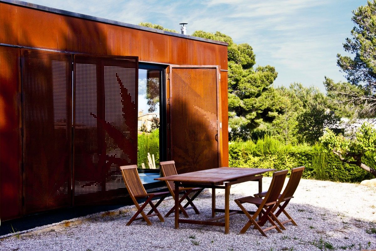 Menta house: una casa prefabricada en el campo - Decorabien.com ...