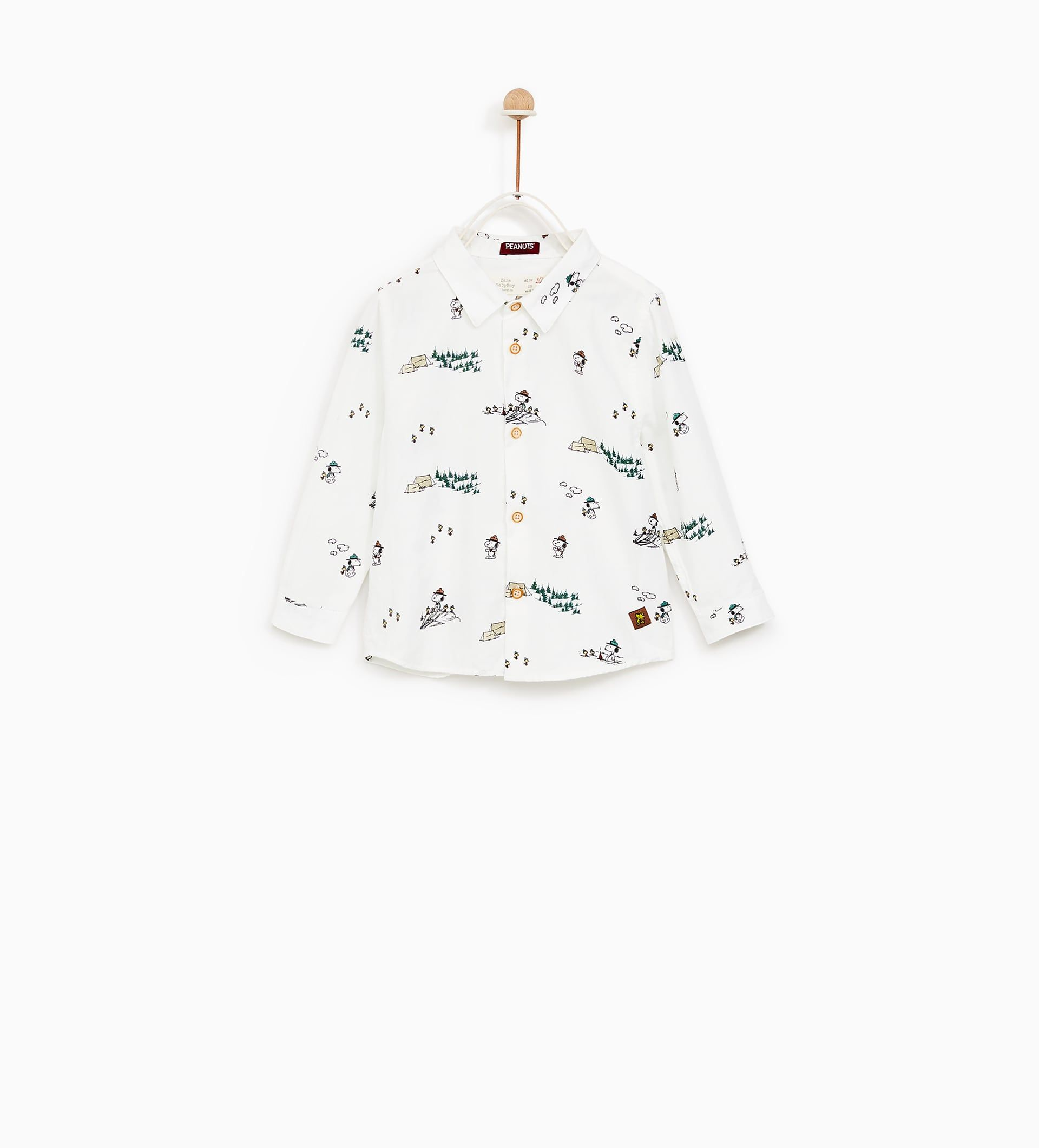 78fdcafec Camisa Snoopy (branco)  ZARA KIDS 3-4 (12