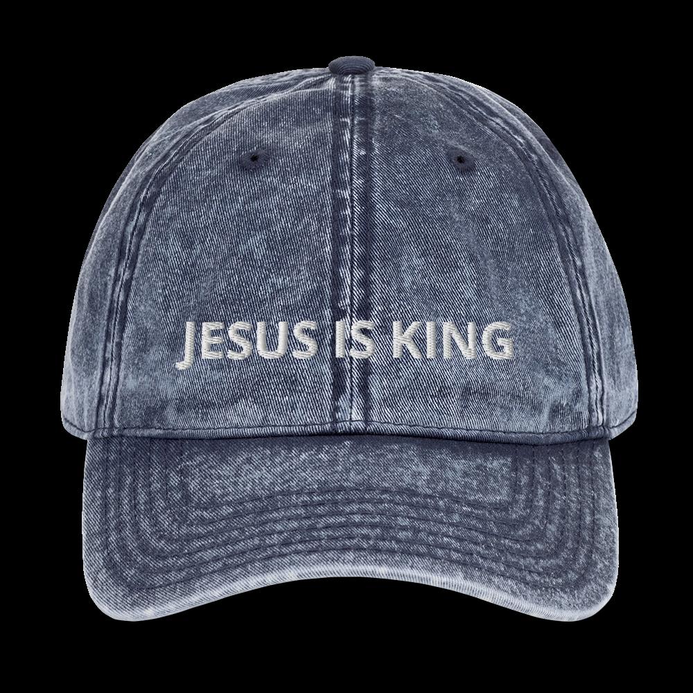 Jesus Is King Vintage Dad Hat In 2020 Vintage Cap Dad Hats Dad Caps