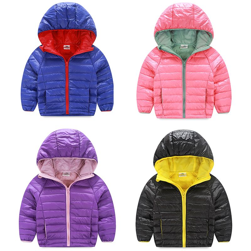 10bdbf34c229 Baby with a hood 2015 winter down coat children s clothing boys ...