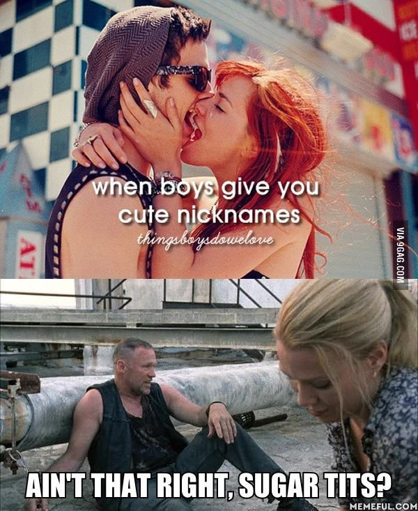 Just girly things | Funny Business | Walking dead funny, The walking