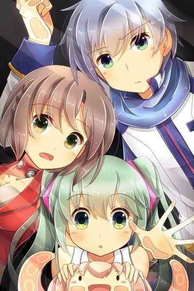 Miku Meiko Kaito Vocaloid Ipod Iphone Lock Screen Anime