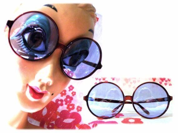 Gafas de sol azules de los años 60 1960 Mod yeye por MeAndTheMajor, €25.00