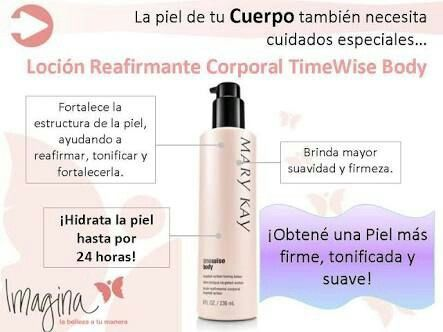 Loción Reafirmante Corporal Time Wise