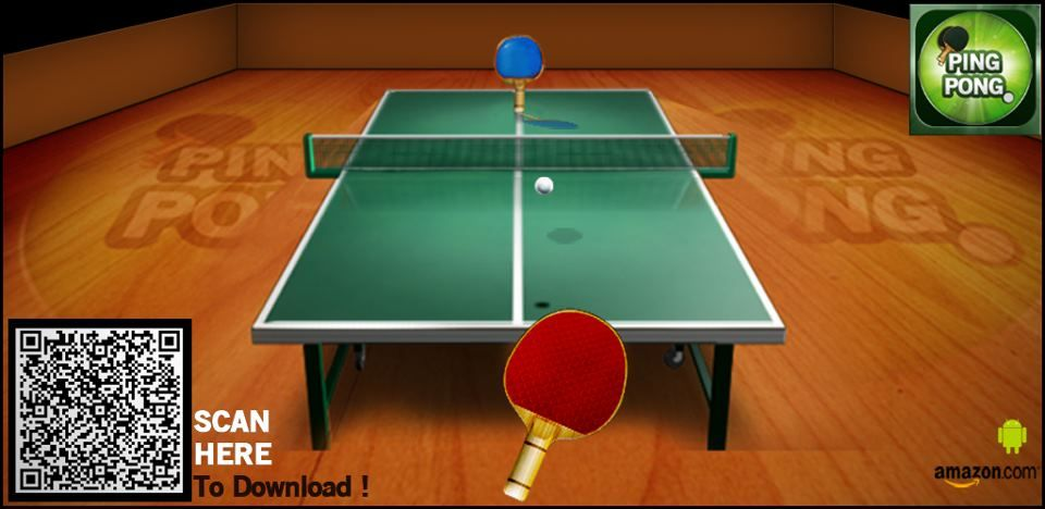 Invite your friends for a Ping Pong Match today! Play