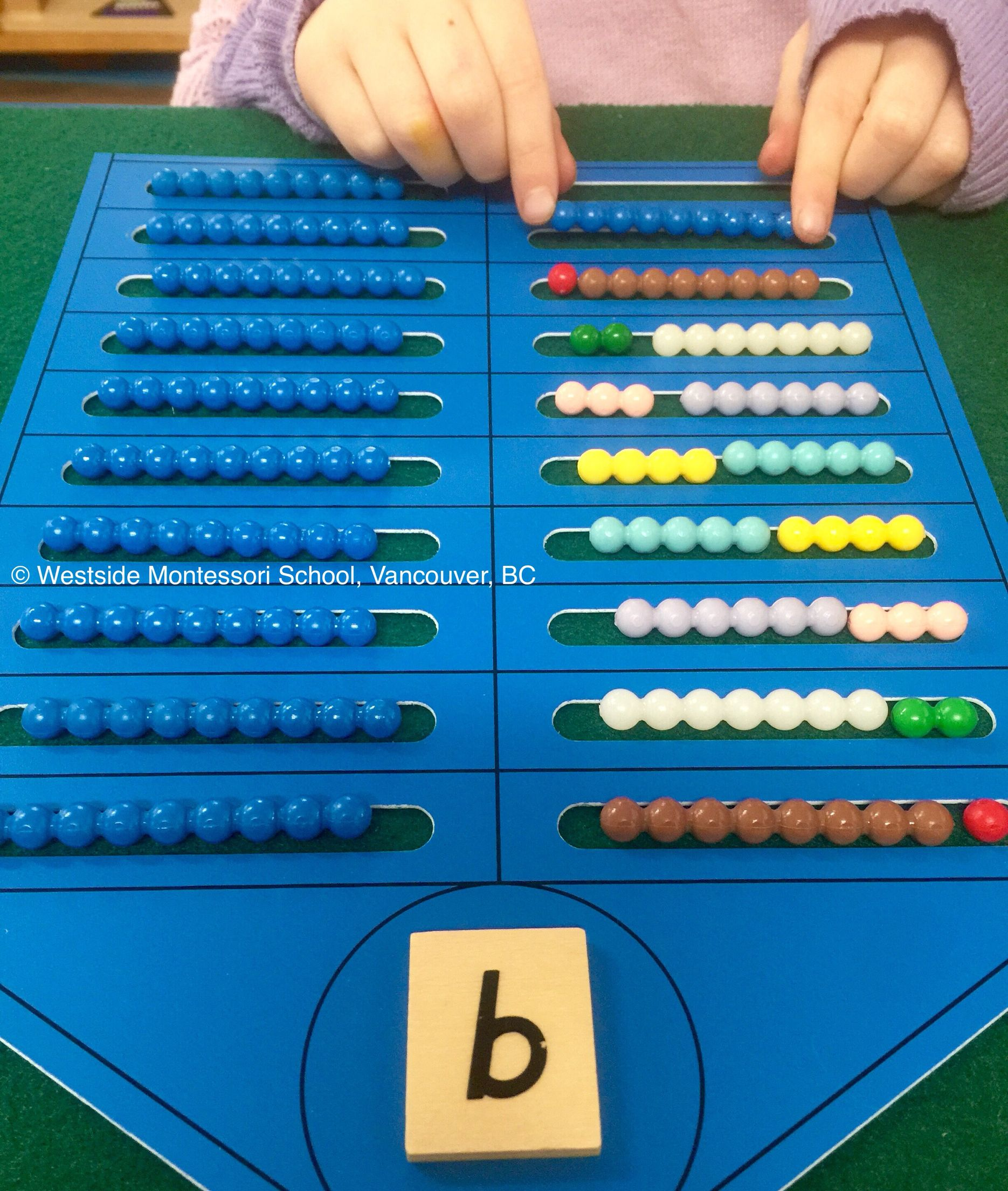 What A Clear And Interactive Way To Explore Possible Number Combinations This Is From Nienhuis Montess Montessori Math Montessori Activities Montessori School [ 2208 x 1870 Pixel ]