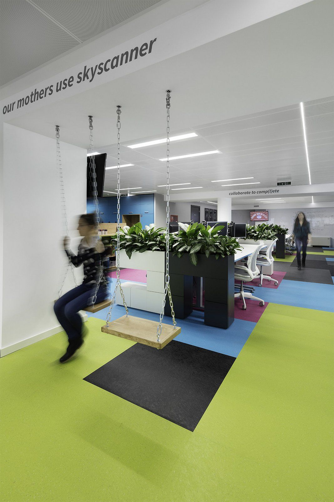 it office design. skyscanner office by stephen george international snapshots it design