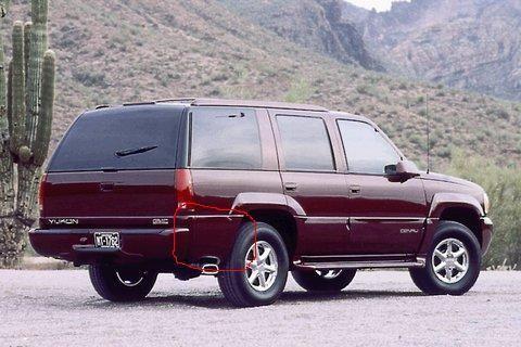 Parts Wanted 2000 Gmc Yukon Denali Right Rear Molding Like As