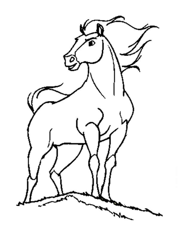 Image Result For Drawings Of Horses Spirit Super Coloring
