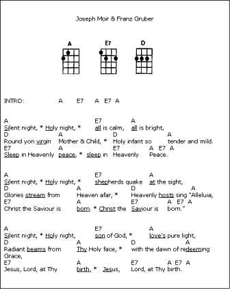 christmas carols ukulele | Ukulele stuff | Pinterest | Tablature ...