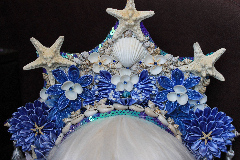 Flower Tribal fusion Halloween dance festival mermaid