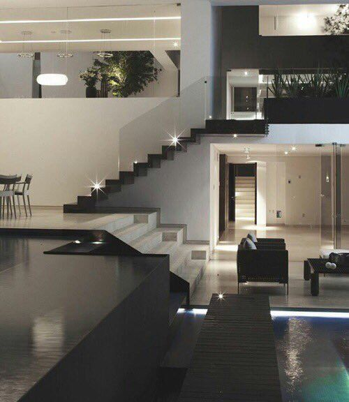 Pin by Bella X on dream house Pinterest House - hi tech loft wohnung loft dethier architecture