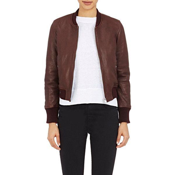 803a3716c Isabel Marant Étoile Women's Washed Leather Brantley Bomber Jacket ...