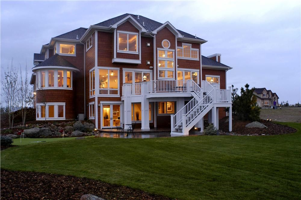 This is a great move up for growing families house plan. This 2 story house